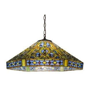Tiffany 3-Light Elizabethan Pendant by Meyda Tiffany