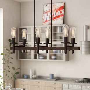 Trent Austin Design Redvale 6-Light Kitchen Island Pendant