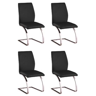 Antonia Parsons Upholstered Dining Chair Set of 4 by Orren Ellis