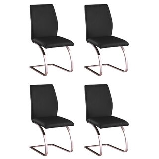 Antonia Parsons Upholstered Dining Chair (Set of 4) by Orren Ellis SKU:AD489868 Guide