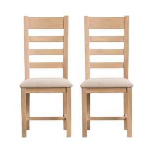 Fareham Solid Wood Dining Chair (Set Of 2) By Brambly Cottage
