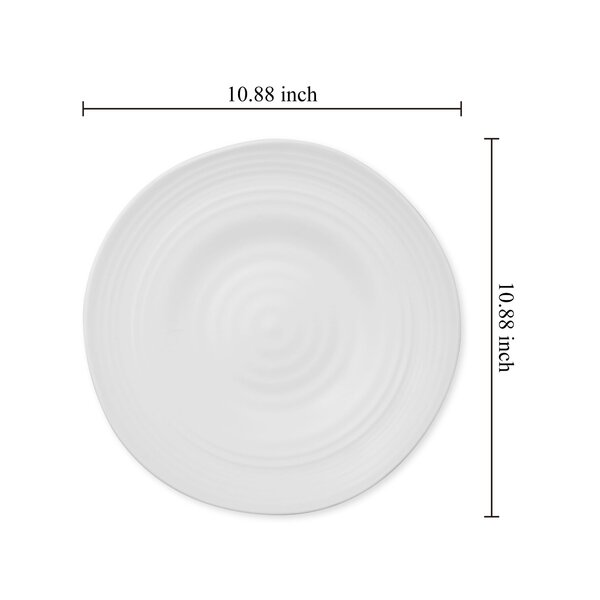 Ivy Bronx Alek 11 Melamine Dinner Plate Wayfair