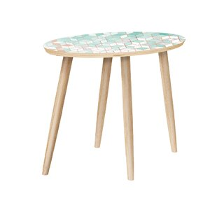 Abastos End Table by Bungalow Rose