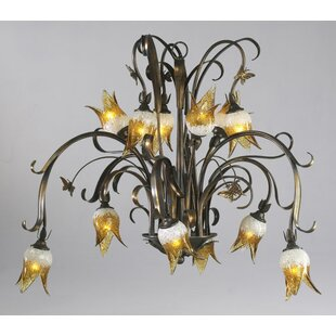 Cyan Design Papillion 12-Light Shaded Chandelier