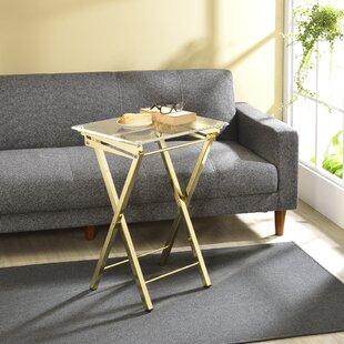 Alvar Folding Tray Table (Set of 2) ByWilla Arlo Interiors