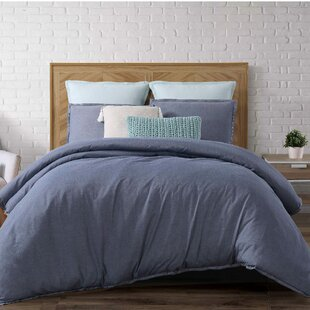 Kinman Cotton Duvet Cover Set