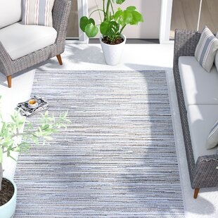 Lorenzo Taupe/Champagne/Blue Indoor/Outdoor Area Rug