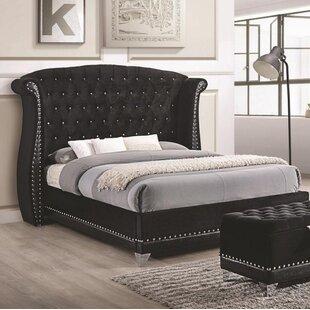 Everly Quinn Stoddard Upholstered Platform Bed