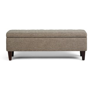 Millwood Pines Laforce Upholstered Storage Bench