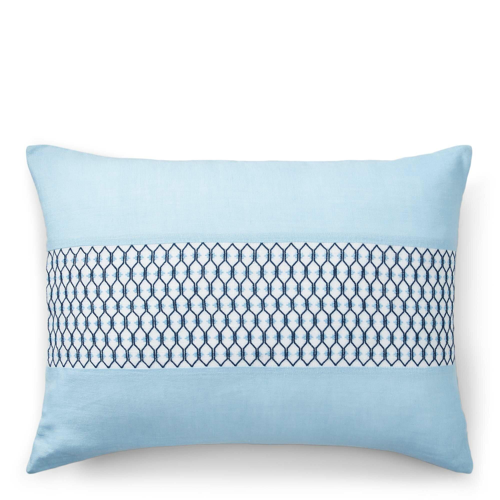 Lauren Ralph Lauren Joanna Cotton Geometric Lumbar Pillow Cover Wayfair