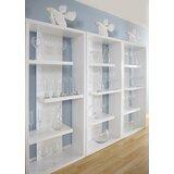 Ocallaghan Geometric Bookcase by Brayden Studio®
