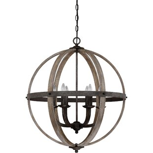 Gracie Oaks Burrill 6-Light Pendant