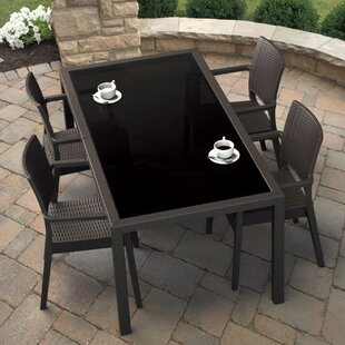 Brayden Studio Kesler 5 Piece Dining Set