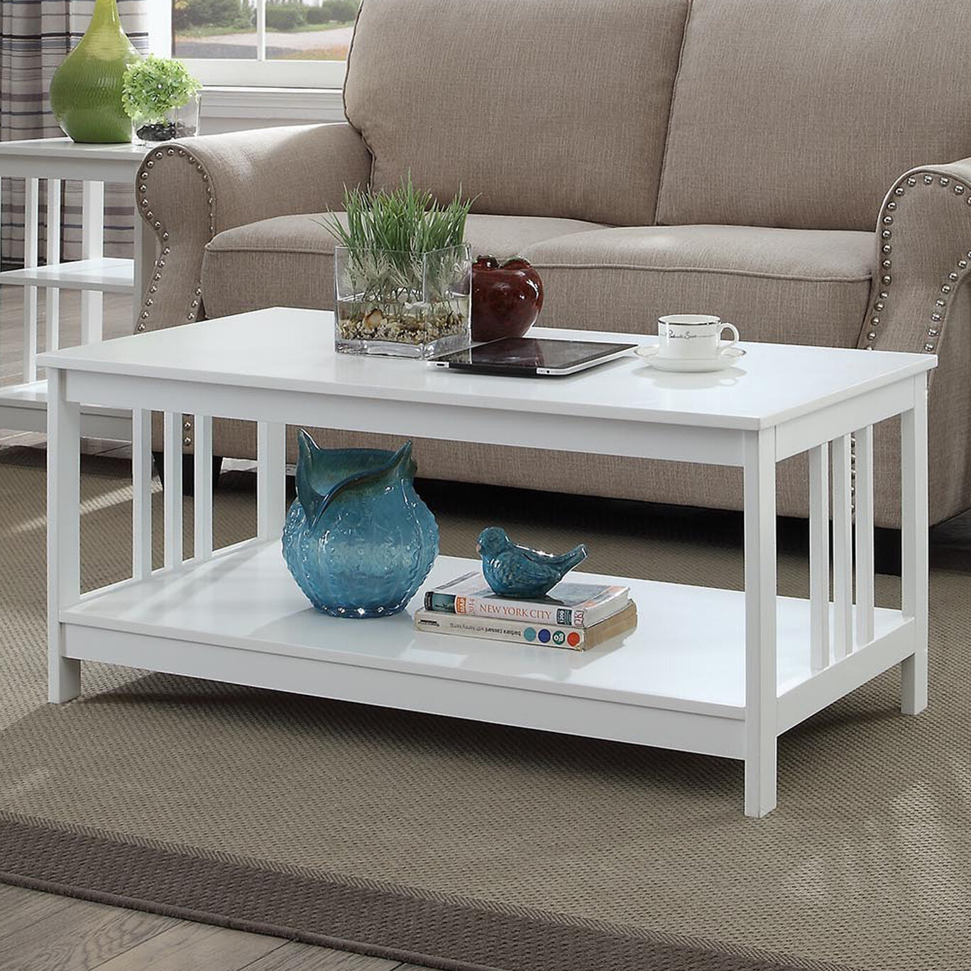 Andover Mills Minerva Coffee Table With Storage Reviews Wayfair
