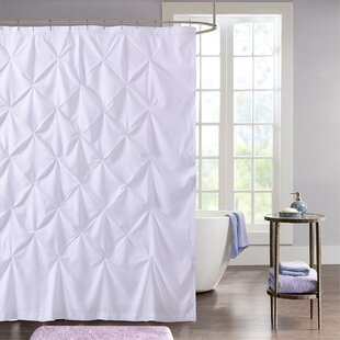 Taya Pintuck Fabric Single Shower Curtain