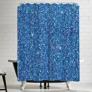 Check Prices Wonderful Dream Diamond Sparkly Shower Curtain By East Urban Home