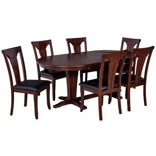 Bateson 7 Piece Tropical Hardwood Dining Set