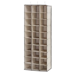Compare & Buy 30-Compartment 30 Pair Hanging Shoe Organizer By Whitmor, Inc