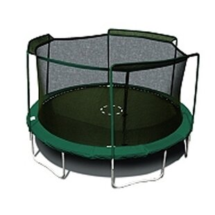 15u0027 Round Tr&oline Net Using 3 Arches  sc 1 st  Wayfair & Trampoline Accessories Youu0027ll Love | Wayfair