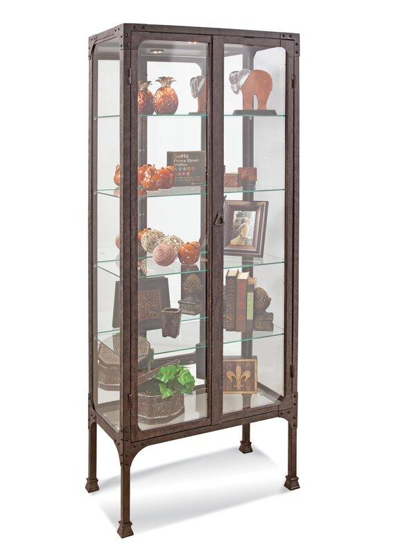 Kildair I Lighted Curio Cabinet