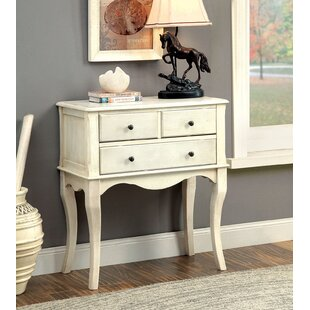 Elara Hallway 3 Drawer Accent Cabinet by August Grove