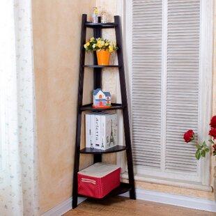 Jurien Wood Corner Bookcase By Latitude Run