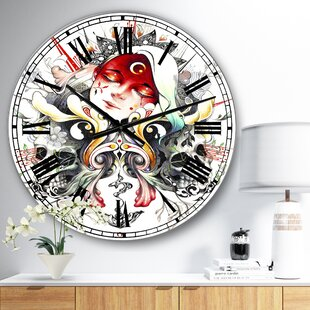 Skull Clocks Wayfair