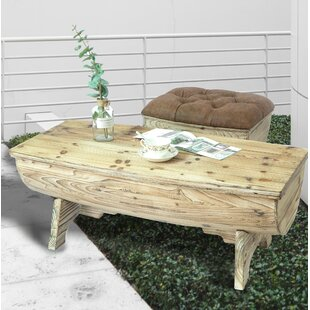 Dunshee Vintage Wooden 2 Piece Coffee Table Set