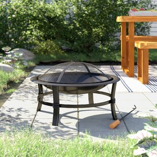 Kling Steel Wood Burning Fire Pit By Sol 72 Outdoor