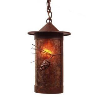 Steel Partners Ponderosa Pine 1-Light Outdoor Pendant