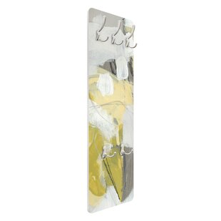 Lemons In The Mist I Wall Mounted Coat Rack By Symple Stuff
