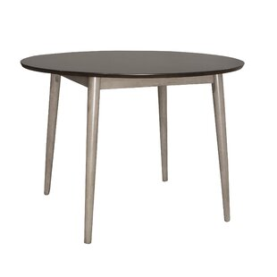 Ivy Bronx Bober Solid Wood Dining Table