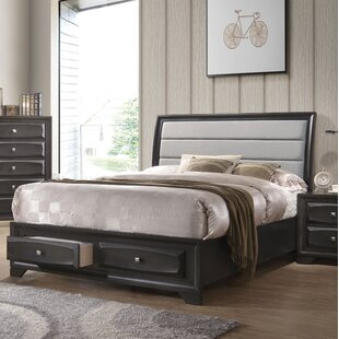 Hersacher Upholstered Storage Sleigh Bed by Latitude Run