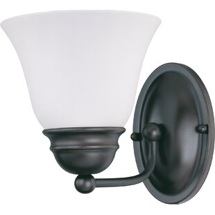 Charlton Home Poneto 1-Light LED Bath Sconce
