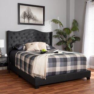 Lucky Upholstered Panel Bed by Mercer41