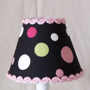 Sweet Pea Polka Dot 11 Fabric Empire Lamp Shade