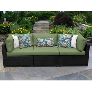 Camak Patio Sofa with Cushions