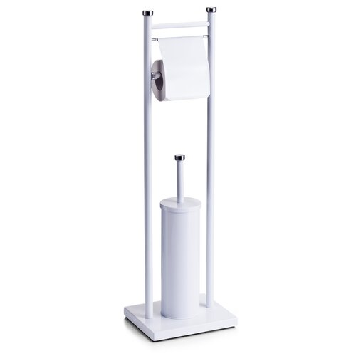 Freistehendes Toilettenbürsten-Set | Bad > Bad-Accessoires > WC-Bürsten | Metall | Zeller