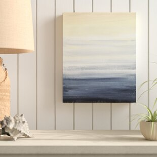 Sea Fog Vertical Wall Art On Canvas