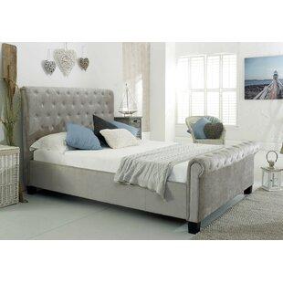 Ludovika Super King (6') Upholstered Bed Frame By Rosalind Wheeler