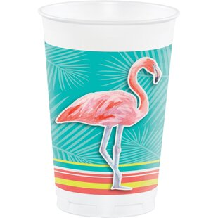 Island Oasis Plastic Disposable Cup (Set of 24)
