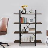 Tatyana 55 H x 41 W Metal Etagere Bookcase by Gracie Oaks