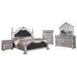 Ariyah Standard 5 Piece Bedroom Set by Rosdorf Park
