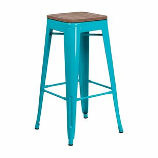 Patrica Backless Industrial 30 Bar Stool