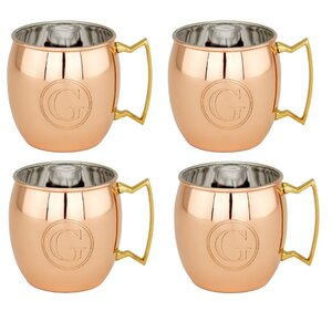 16 oz. Moscow Mule Mug (Set of 4) (Set of 4)