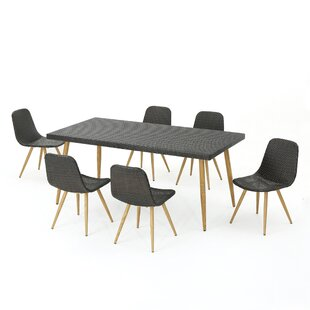 Outdoor 7 Piece Dining Set by Langley Street
