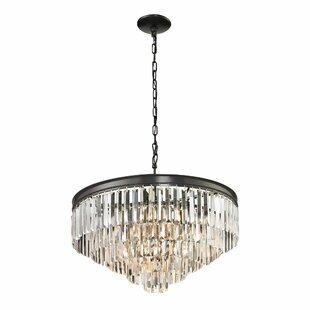 Willa Arlo Interiors Springfield 6-Light Crystal Chandelier