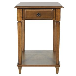 Brundidge End Table with Storage by Canora Grey
