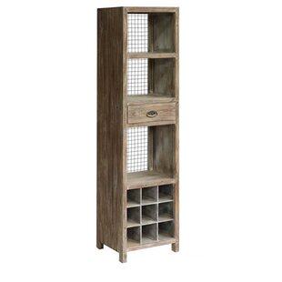 Union Rustic Atkins Floor Wine Cabinet