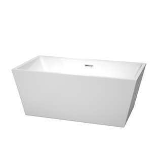 Where buy  Sara 59 x 31.5 Soaking Bathtub By Wyndham Collection